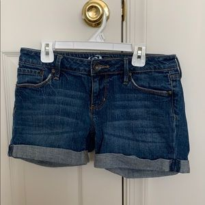 bullhead denim shorts